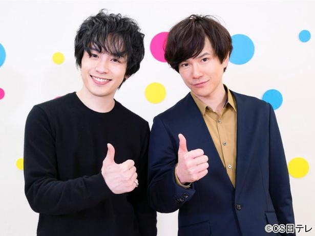 写真左から、鈴木勝吾、平野良