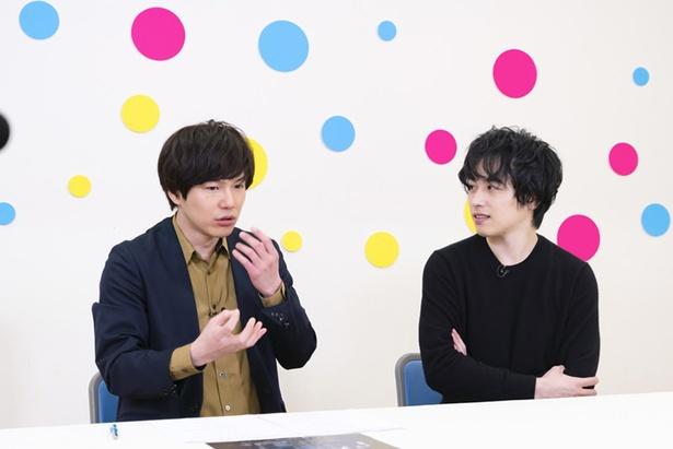 お互いがすごいと思っている部分を語った平野良と鈴木勝吾
