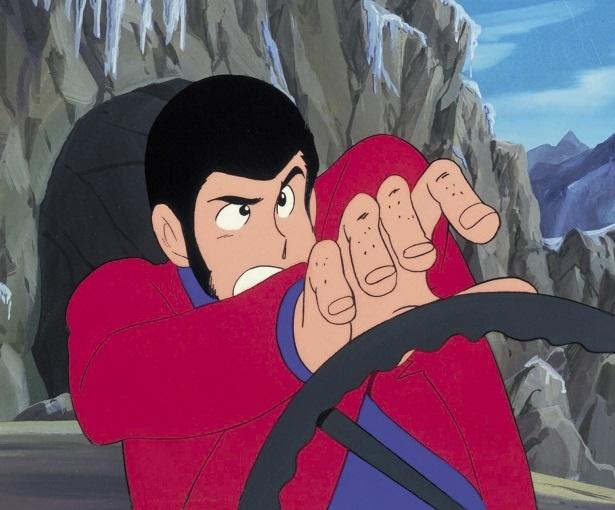 「ルパン三世(PART2)」は1977年より日本テレビ系で放送された。ジャケットの色は赤!