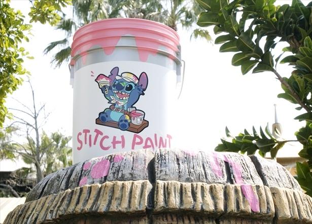 「リロ&スティッチのフリフリ大騒動~Find Stitch!~」のデコレーション (平成18年(2006年)4月15日~7月13日/平成19年(2007年)4月10日~7月19日)