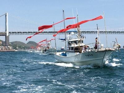 しものせき海峡まつり / 船上パレードを観覧できる「源平まつり」