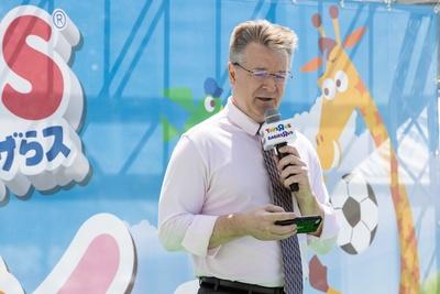 日本トイザらスのディーター・ハーベル代表取締役社長