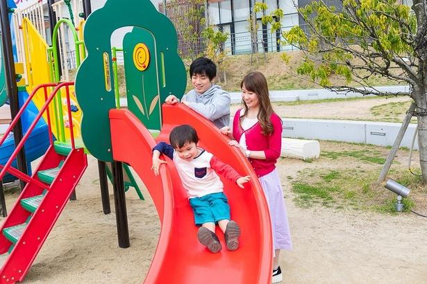 「キッズフォレスト」は小さな子供が思い切り遊べる