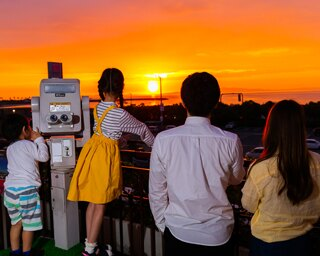 「日本の夕景百選」の絶景を楽しみながらディナーを