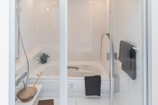 2階にある浴室
