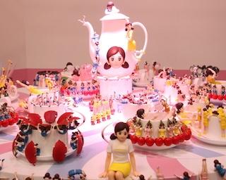 約1,000体のコップのフチ子が神戸に集結!カプセルトイを手がけるキタンクラブ関西初開催の展示イベントが開催中