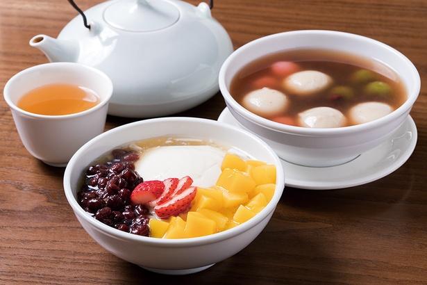 中国茶と一緒に楽しみたい点心スイーツも多数紹介しています!