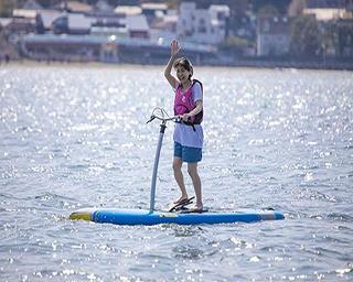 GWのおすすめアクティビティ!初夏は逗子で「足漕ぎSUP」が体験できる!