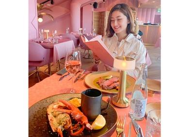 グルメなカオリさんのご家族も美食家。親の記念日には、ディナーのためだけに三重県松阪市まで行くとか