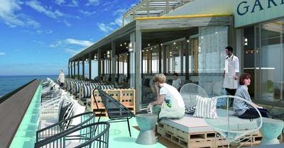 播磨灘の大パノラマな海景色が広がる淡路島の西海岸に誕生する大型店/GARB COSTA ORANGE