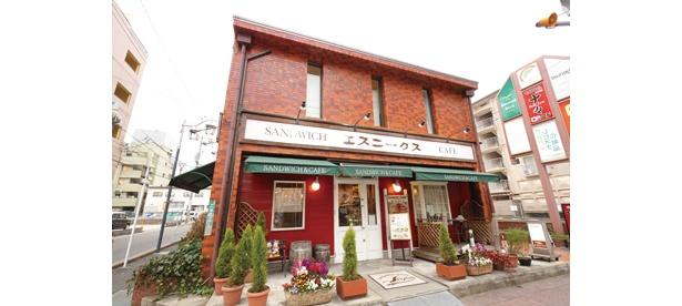 「SANDWICH HOUSE エスニークス」(名古屋市天白区)では、モーニングでサンドイッチが食べられる!