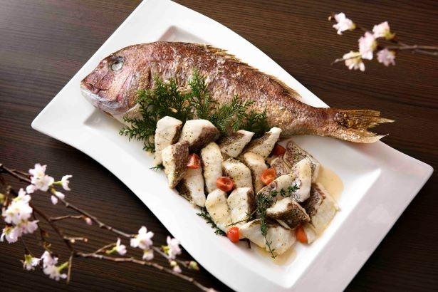真鯛の発酵バターソース