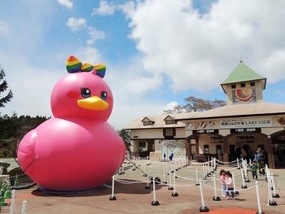 お披露目となった「ピンク・P・ウッカ」、通称リボンちゃん