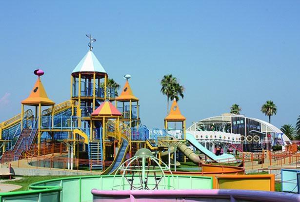 「夢っこランド」には関西最大級の大型遊具がある/淡路島 国営明石海峡公園