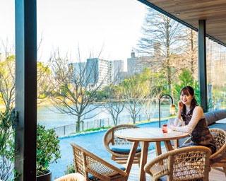 釣り堀や緑が見えるカフェレストランでのんびり過ごす!「千里南公園」で自然を感じる休日を