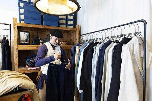 伊佐さんが選ぶファッションは装う女性の個性を際立たせ、かつ着心地もよい