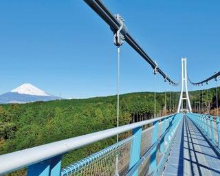 日頃の疲れは自然に癒されよう!つり橋、清流から富士山が望める絶景スポットを紹介
