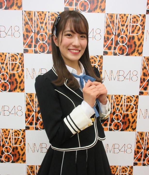 今回のメンバーを選んだ理由を語る小嶋花梨