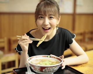【#SKE48の彼女とラーメンなう vol.18】チームKIIの大場美奈ちゃんと好来系ラーメンを食べたら…♥
