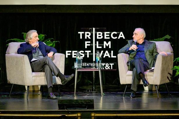 ビーコンシアターで行われたマーティン・スコセッシ監督とロバート・デ・ニーロの仲良しトークショー