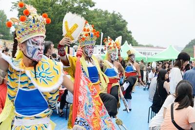 台湾の国民的パフォーマンス集団「九天民俗技芸団(九天)」