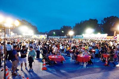 台湾全土のご当地グルメが集結する「台湾ビアガーデン」