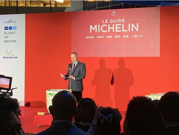 【写真を見る】日本ミシュランタイヤ株式会社 代表取締役社長のポール・ペリニオ氏