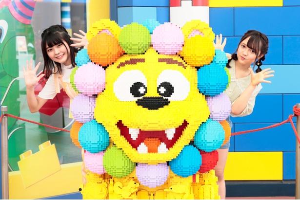 レゴ(R)認定プロビルダーの三井淳平氏が制作したカラフルライオン