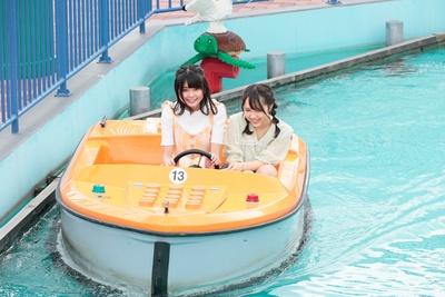 「コースト・ガード・エイチキュー」でボートに乗車!