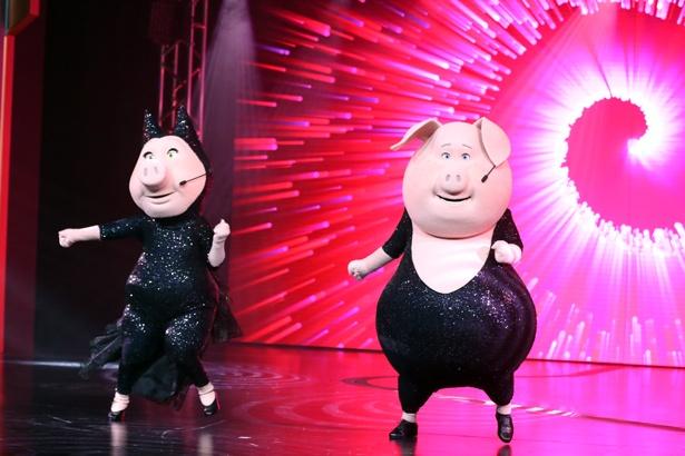 グンター&ロジータの名コンビも健在。シンクロするキレキレのダンスに釘付けに