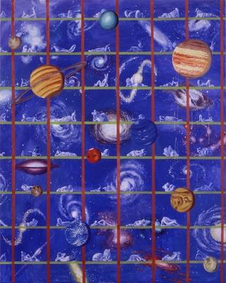 横尾忠則「誰か故郷を想わざる」2001年 Tadanori Yokoo