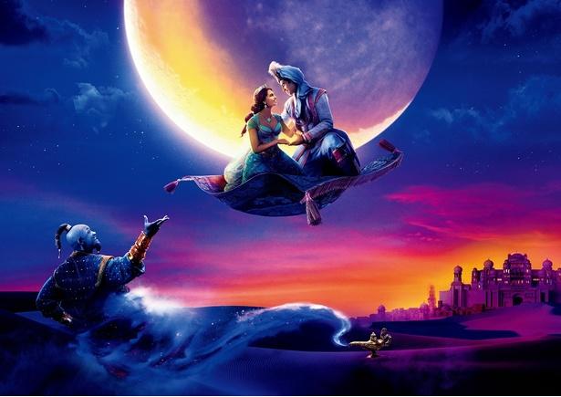 世界的名曲をアラジン役の声優・中村倫也とジャスミン役の声優・木下晴香が歌い上げる!