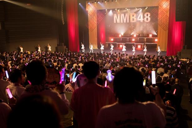 「NMB48近畿十番勝負2019」が行われたオリックス劇場