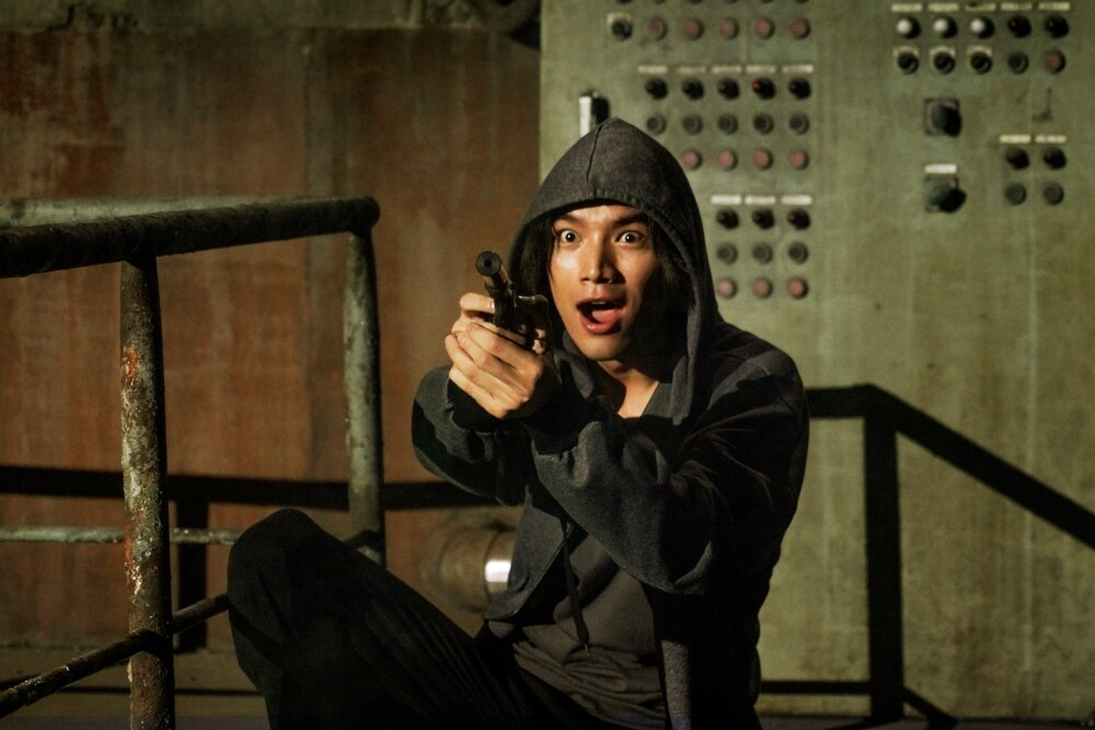福士蒼汰は、ファブルへの憧れから彼の命をねらうサイコな殺し屋フードを演じる