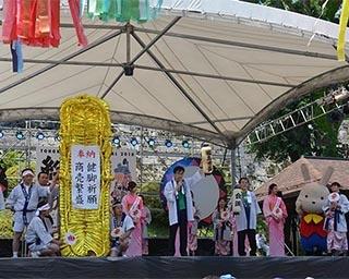 昨年盛岡で開催された同イベントの様子。福島県がステージPRを行っている