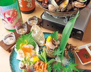 珍しい鍋で貝ざんまい!異なる味と食感を感じて「天満 貝蒸屋」