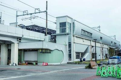 3月16日、京都鉄道博物館の北に開業したJR梅小路京都西駅/梅小路公園