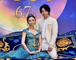 若手人気俳優・中村倫也が日本一空に近い場所・あべのハルカスで生歌披露! 名作アニメの実写映画『アラジン』大阪イベント