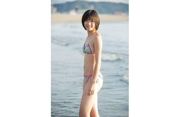 12/14に1st写真集「はじめてのスキ」を発売する相楽樹(15)
