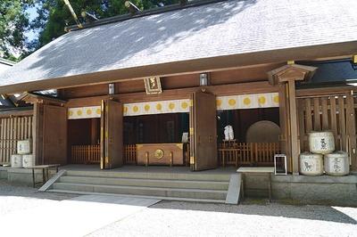 天岩戸神社 / 天照大神が隠れたという天岩戸がご神体の神社
