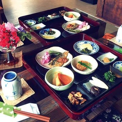 山の学校レストラン 菜膳 / 「日替り膳」(1400円)