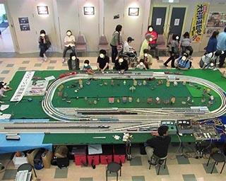 鉄道模型運転会の様子(写真は昨年)