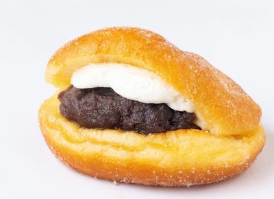 ボリューミーなパンが食べたい人はこれ。「名古屋あんドーナツ」(180円) / 中屋パン
