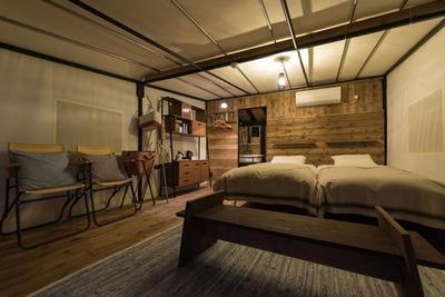 テント内は、ホテルのような設備が充実 / ホテルグリーンピア南阿蘇&ラグジュアリーキャンプ