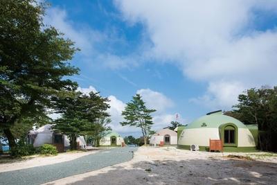 かわいいドームハウスでリラックス / 吉無田高原 緑の村星の森ヴィラ