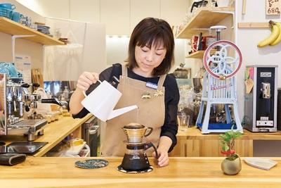 自家焙煎珈琲豆屋 珈琲まつり / SCAJ認定アドバンスド・コーヒーマイスターであるオーナー