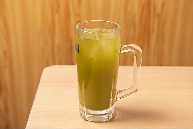 青汁で作った「青汁ハイ」(410円)