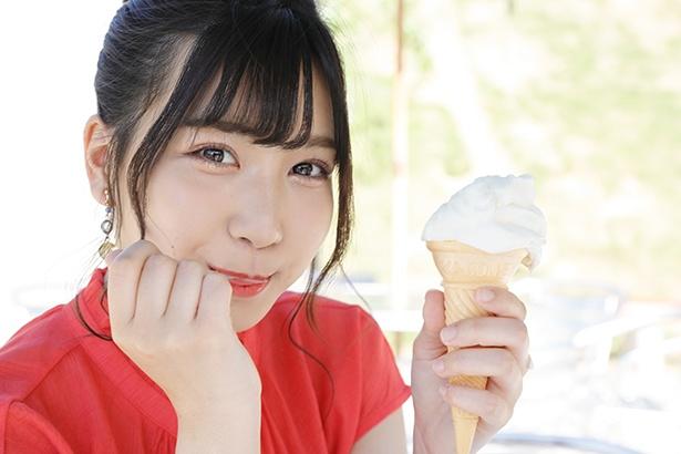 「アイス、ひと口ほしい?」(太田)
