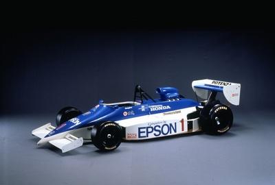 中嶋悟が乗り全日本F2選手権チャンピオンに輝いたマーチ ホンダ 86J
