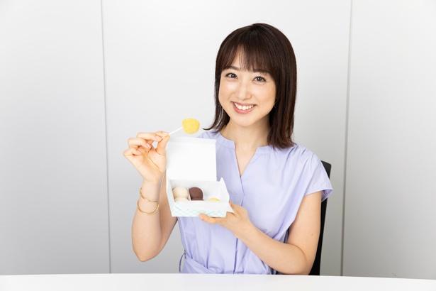 「みずみずしいあんこですが、甘さもしっかりあります。江戸時代の人たちはこのお団子で糖分を十分に取って、お腹を満たしていたんでしょうね」